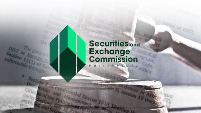 SEC releases MC No. 28, imposes penalty for non-compliance